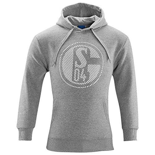 FC Schalke 04 Sweat-Shirt Classic Grey, Größenauswahl:L