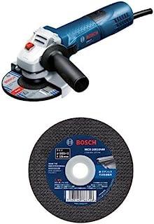 BOSCH(ボッシュ) 100mmディスクグラインダー(無段変速型) GWS7-100E 切断砥石(10枚)セット