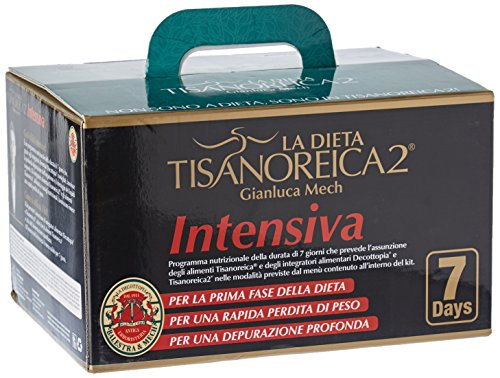 Gianluca Mech La Dieta Tisanoreica2 - Intensiva, Kit per 7 Giorni