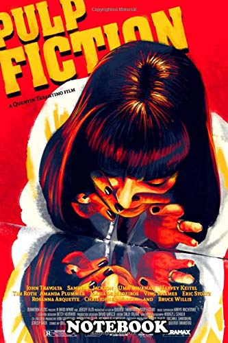 """Price comparison product image Notebook: 001004 Pulp Fiction Collection By Kimono Sabi ,  Journal for Writing,  College Ruled Size 6"""" x 9"""",  110 Pages"""