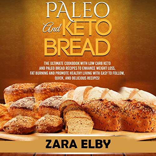 Paleo and Keto Bread audiobook cover art