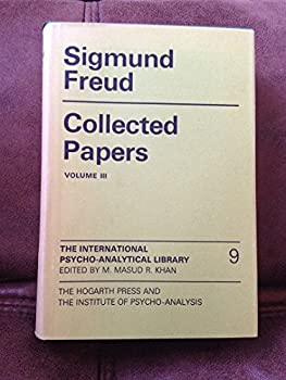 Hardcover Sigmund Freud Collected Papers Volume 3 [Hardcover] [Jan 01, 1953] Book