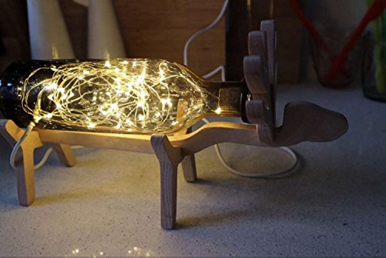 GaoHX Light Vintage Nordischen Holz Tisch Lampe Vintage Lampe Log Lampen Hand-Kreativen Geburtstag Geschenk Tischlampe,A B06XBQ5JGH     | Kaufen