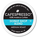 CAFESPRESSO Donut Shop Blend for K Cup Keurig 2.0 Brewers, 80Count, Medium Roast Single Serve Coffee Pods, 80Count (Packaging May Vary)