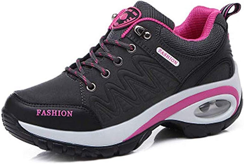 T-JULY Women's Fashion Mesh Hiking Sports Sneakers Wedges Flexible Platform Non-Slip Trail Backpacking Climbing shoes