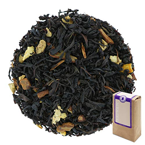 "Núm. 1119: Té negro ""Navidad"" - hojas sueltas - 250 g - GAIWAN® GERMANY - té negro de Ceilán y China, cassia, jengibre, naranja"