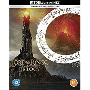 The Lord of The Rings Trilogy: [Theatrical and [4K Ultra HD] [2001] [Region Free]