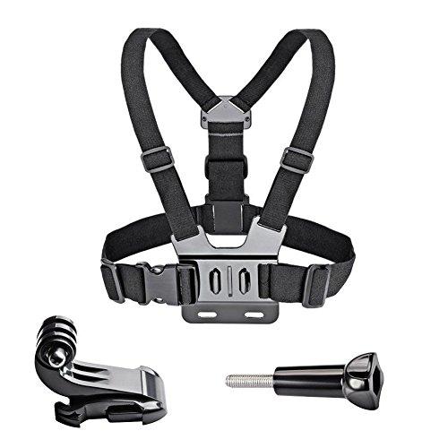 LEEBA Arnés Ajustable para Cinturón de Seguridad para Cámara GoPro HD Hero 2, 3, 4 y 5