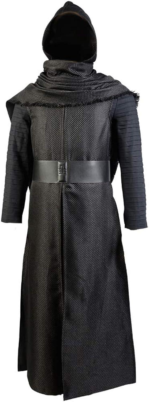 barato y de moda Tianxinxishop Disfraz Disfraz Disfraz de CosJugar de pelicula para Hombre Disfraz de Lucha con Capucha Conjunto Completo Negro  ahorre 60% de descuento
