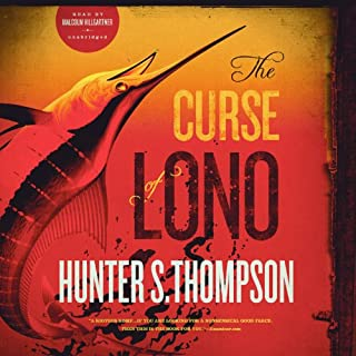 The Curse of Lono audiobook cover art