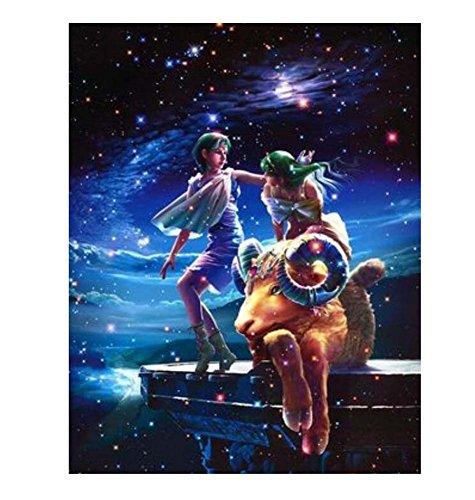 1000 Piezas Clásico Hermoso 12 Constelaciones de los niños Rompecabezas  Capricornio