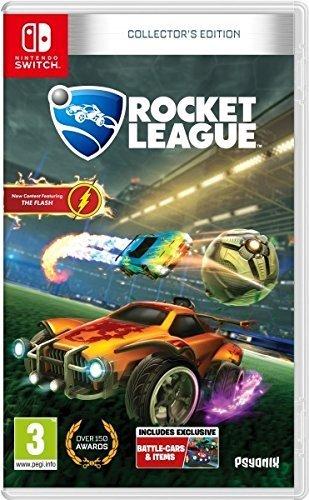 Warner Bros. Records Rocket League - Collector's Edition vídeo - Juego (Nintendo Switch, Acción / Carreras, Modo multijugador, RP (Clasificación pendiente))
