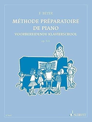 Méthode préparatoire de piano op.101