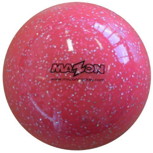 Mazon Smooth Field Balle de Hockey, Paillettes - Rose, 1 Ball
