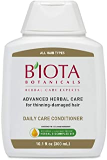BIOTA Botanicals Advanced Herbal Care Conditioner for Thinning-Damaged Hair