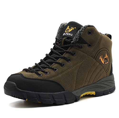 Heren Mountain Schoenen Verdikking Kids Jongen Jagen Wandelschoenen Fiets Running Mountaineer Schoenen Ademende Anti-slip Casual Sport Outdoor High-Top