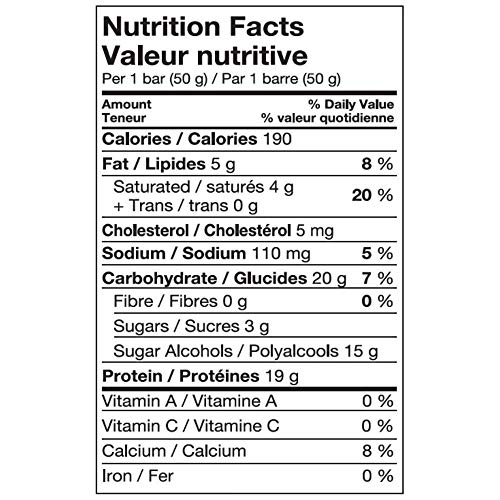 Pure Protein Bars, Gluten Free, Snack Bar, Maple Caramel, 50 gram, 6 Count