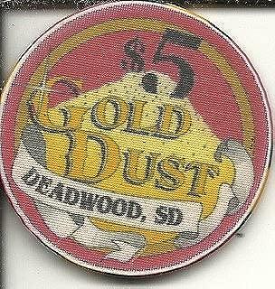 $5 gold dust casino chip deadwood south dakota