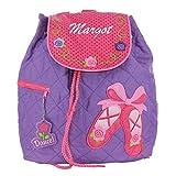 Stephen Joseph Childrens Backpack - Ballerina Personalised