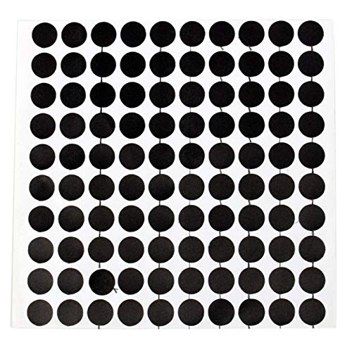 VGEBY Puntos del Marcador de la Mesa de Billar, Accesorios de los billares del localizador de la Bola Blanca de la Etiqueta engomada del Punto de Billar(Tamaño británico 10 CM)