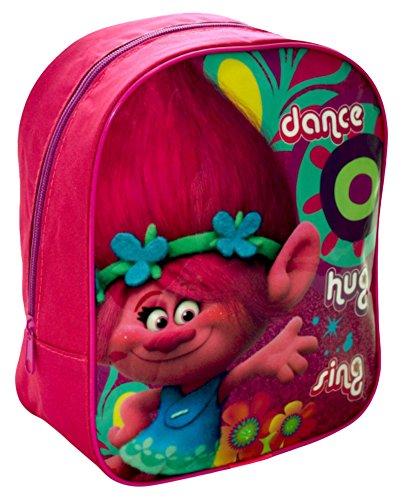 Trolls 1000HV-6200 Poppy Dance, Knuffel, Kwekerij Rugzak, Roze, 25 cm