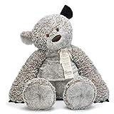 DEMDACO Jumbo 36 inch Giving Bear with Corduroy Ear Children's Plush Stuffed Animal Toy