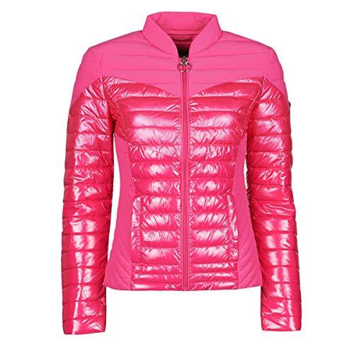 Guess W0YL52WCOG0 - Chaqueta de entretiempo para mujer (talla S), color rosa