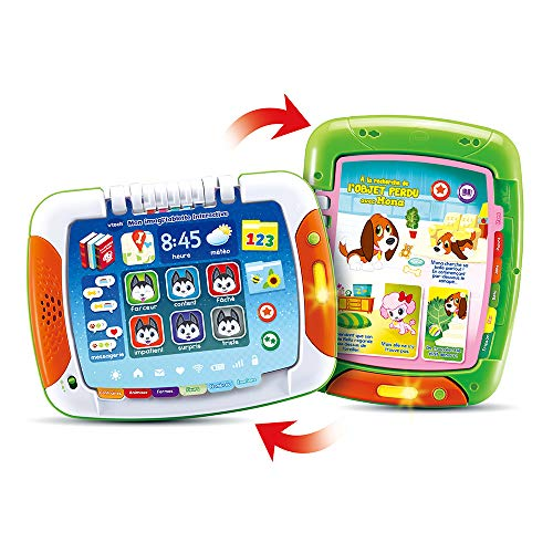 VTech – Mi Imagi'Tablet Interactive – Tablet para bebé, Juguete Interactivo – 2 – 5 años – Versión FR