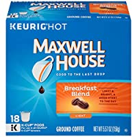 Maxwell House Breakfast Blend K-Cup Packs - 18 count by Maxwell House