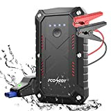 FCONEGY Car Jump Starter,2200A Peak 25000mAh Portable Car Jump Starter with USB Quick