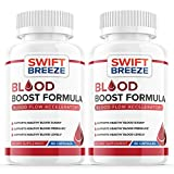 (2 Pack) Blood Boost Support Formula Pill Supplement for Diabetes Capsules - Blood Sugar Support for High Blood Pressure Diabetes - Natural Nutrition (120 Capsules)