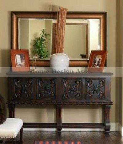Extra latest Large Bronze Wall Ranking integrated 1st place Mantle XL Mirror Wood