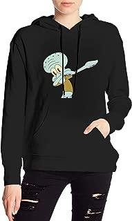 Squidward Dabbing Women's Pullover Sweatshirt Print Hoodies(Unisex)