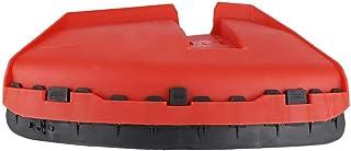 Hakeeta Cubierta de protección para cortacésped/desbrozadora/desbrozadora CG520 430 Protector de Cuchilla, Protector de reemplazo de Placa de desbarbadora, 26 mm, para CG520 430, 330,140, GX35