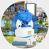 KKTECT Spruzzatore ULV Elettrico da 5 Litri, Nebulizzatore Elettrico ULV Portatile da 5 Litri Spruzzatore Elettrico da Giardino a 3 ugelli ULV, per la sterilizzazione in Fabbrica, Scuola, Officina