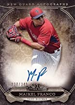 2015 Topps Tier One New Guard Autographs #NGA-MFR Maikel Franco Certified Autograph Baseball Card – Only 349 made!