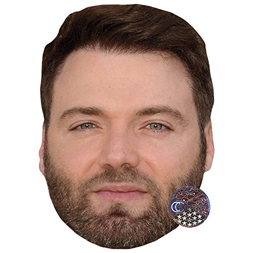 Celebrity Cutouts Seth Gabel Maske aus Karton
