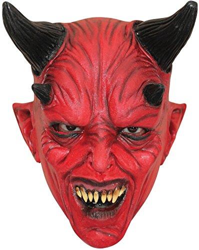 Generique - rote Teufelsmaske Halloween für Kinder