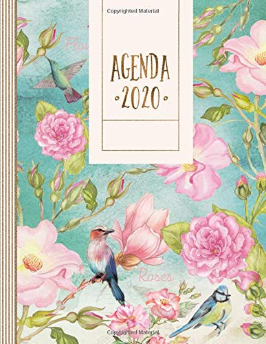Agenda 2020: Planner Calendario, Journalier Annuale, Mensile e Settimanale, To Do List + 45 Pagine Griglia a Punti - Agende Giornaliera con Dotted Notebook Journal A4 Gennaio - Dicembre 12 Mesi