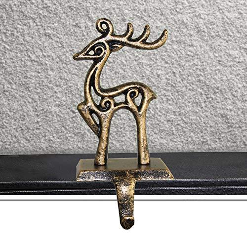 seebesteu Gancio per Calza di Natale in Ferro Massiccio, Decorazione Natalizie, Forniture da Interno per Il Natale