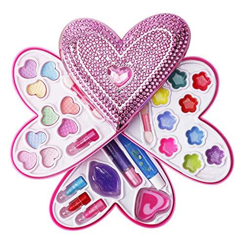 Liberty Imports Petite Girls Heart Shaped Cosmetics Play Set