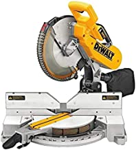 DeWalt 250MM 1650W Non slide compound Mitre Saw good for wood and Aluminium. With blade, Yellow/Black, DW714-B53 Year Warr...