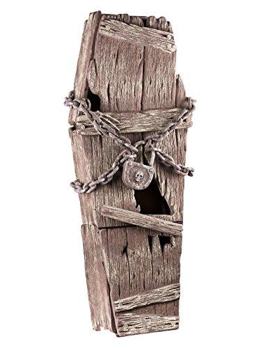 Generique - Cercueil en Bois avec Chaines 39x150cm