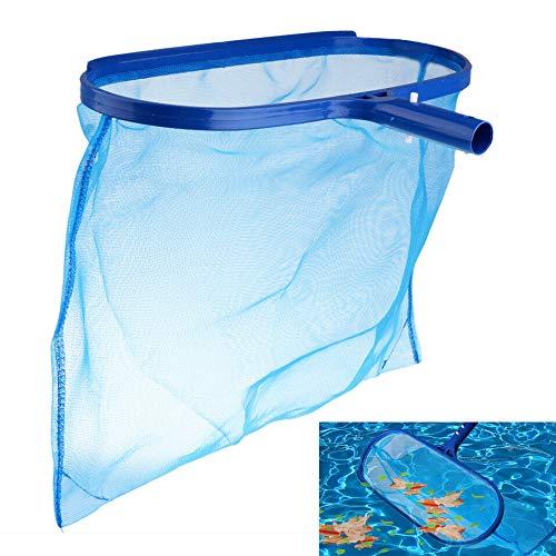 CODIRATO Recoge Hojas Skimmer para Piscina Recogehojas para Piscinas Pool Net Leaf Skimmer Recogedor Hojas Piscina para Piscinas Hojas Bañeras Fuente Pecera (No Incluye el Mango)