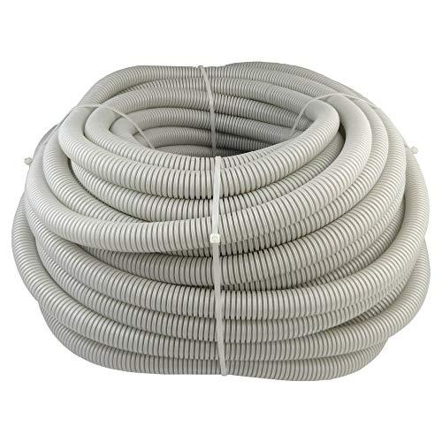 50m vacíos Tubo Well de eléctrico de tuberías cable canal Well Manguera ⌀ 20mm M20320N gris PVC flexible ignífugo RGP 20/14Marmat 2798