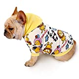 LUCKYSTAR Puppy Hoodie Sweater Dog Coat Warm Sweatshirt Dog Outfits,Cute Winter Pet Clothes for Dog Cat (M, Panda Lion)