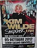 Kim Wilde, 40 x 60 cm Kunstdruck/Poster