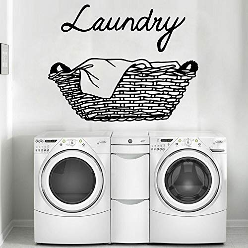XCSJX Cartoon laundry wall sticker self-adhesive art wallpaper for kids room home decoration vinyl art decal 67x86cm can be customized
