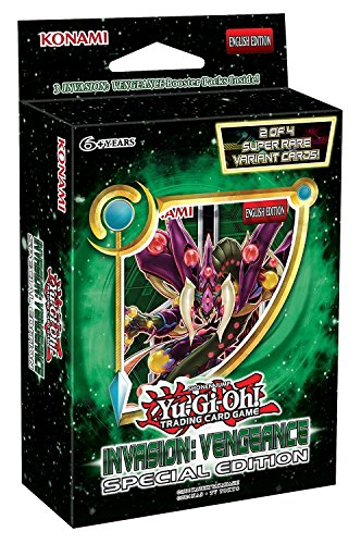 YU-GI-OH!. 14497 Invasion Vengeance Special Edition Trading Karten