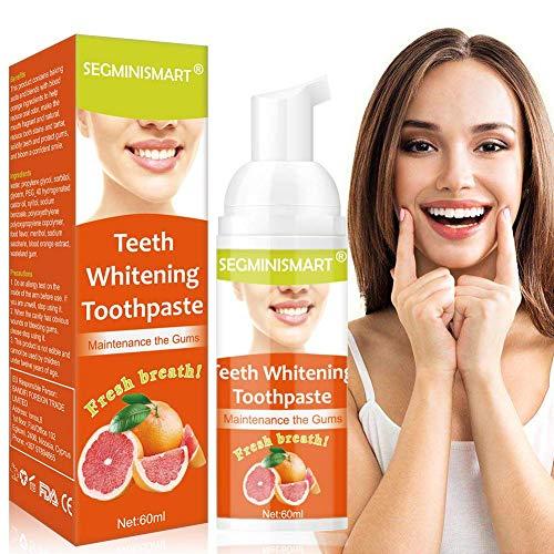 Whitening Zahnpasta, Whitening Toothpaste, Soda Zahnpasta, Bleaching Zahnpasta, Intensive Fleckenentfernung Zahnpasta, Natürliche Zahnaufhellung und Zahnreinigung Zahnpasta- Fluoridfreie Zahnpasta